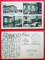AK DRESDEN Mickten Trachau 1940 Gasthaus Goldenes Lamm mit Innenansicht  ( 20185