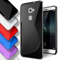 Huawei Mate 8 Silicone Gel S Line Case Cover Ultra Thin Slim Back Bumper