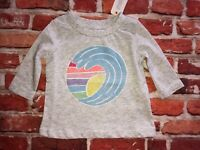 """0-3 M Baby boys NWT Gymboree /""""By the Seashore/"""" white blue /""""Be Awesome/"""" shirt"""