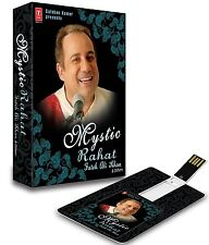 MYSTIC RAHAT FATEH ALI KHAN & OTHER USB MUSIC CARD/ 140 SONGS / WORKS ON ALL USB