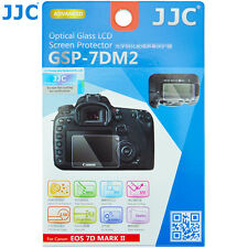 JJC 0.3mm Optical Tempered Glass LCD Screen Protector for Canon EOS 7D Mark II