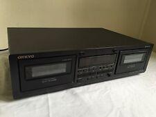 Onkyo TA-RW244 Dual Cassette Player Recorder Deck
