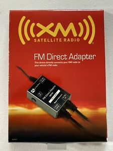Audiovox XM Fm1 XM Satellite Radio FM Direct receiver Adapter Power