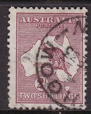 Australia ^sc#99 used 2 shillings Kangaroo Classic $@ dca174aust444