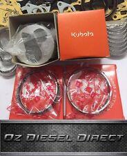 Z602 Kubota Z602 Genuine New Overhaul Rebuild kit BX1500