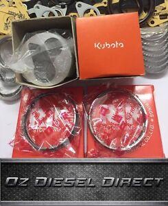 Z602 Kubota New Overhaul Rebuild kit for Z602 BX1500