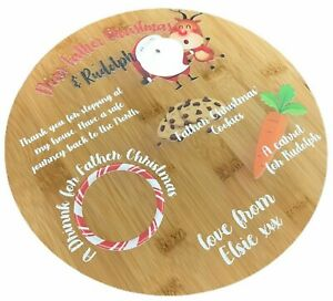 Personalised Father Christmas Treat Board | 100% Personalised | Printed Treats