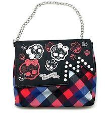 Monster High Skull Mummy Handbag Girl School Small Purse Chain Handle Wallet Bag