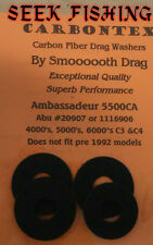 Carbontex Smooth Drag set Abu Garcia  Ambassaduer 5000 5500 5600 C3 C4