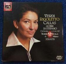 Verdi: Rigoletto [tiene] (2 Lp + Folleto): María Callas