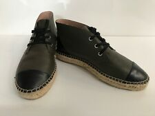 Witchery ladies leather espadrille shoes Size 7