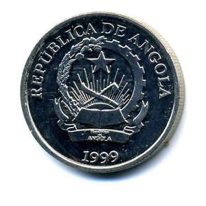 Angola 2 Kwanzas 1999 KM 98 XF