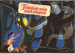 Frösi + Beilagen (0-1) Top wie Verlagsneu Nr. 8 / 1957 Gb.-Querformat