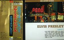 CD ELVIS PRESLEY - blue suede shoes, big artist album, Japan Import