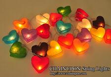 coeur lanterne de papier parti,fées,décor,mariage,noel guirlandes lumineuses
