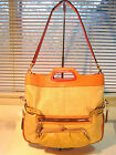 NWT Coach 13400 Straw Bonnie Ivory Foldover Tote Shoulder Bag Expandable $498