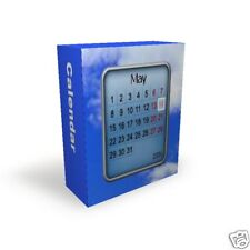 Fantastic Windows Desktop calendar program autorun CD +Free P&P