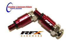 RFX RED FORK AIR QUICK BLEEDERS  HONDA CR125 CR250 CRF250 CRF450 MOTOCROSS