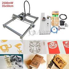 2500mW 35x50cm Desktop Laser Engraving Machine Engraver DIY Marking Logo Printer