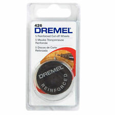 "Dremel 31.8mm(1 1/4"") 5pcs Fiberglass Reinforced Cut-Off Wheels 426"