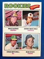 DENNY MARTINEZ 1977 Topps Rookie RC # 491