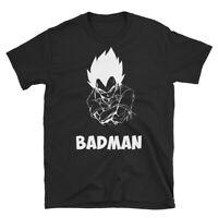 Vegeta Badman Shirt Dragon Ball Z Anime Shirt Super Saiyan Vegeta Superhero
