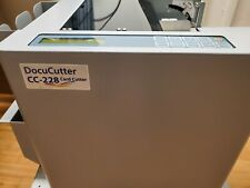 Duplo docuCutter Cc-228 Card Cutter