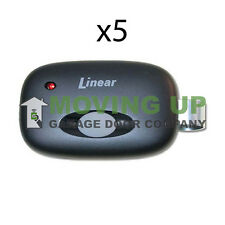 Linear MegaCode MCT-11 Remote Transmitter Garage Door Opener DNT00090 QTY 5