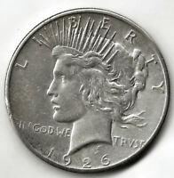 U.S.A. 1 Dolar Paz 1926 San Francisco @ Bella pieza @@ plata @@