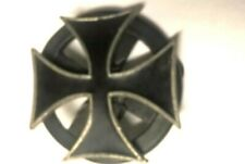 Iron Cross belt buckle that spins