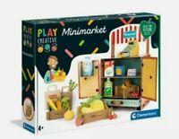 Clementoni Play Creative Minimarket  Age 4+ 100% Recycled Eco Friendly Toys