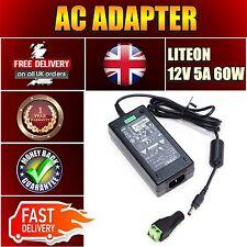 DC 12V 5A 60W Power Supply Adapter UK Plug for 3528 5050 RGB LED Strip Light