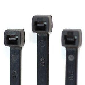 300 Stück Profi Kabelbinder Sortiment 100-290 mm Länge schwarz RheVeTec RheFLEX®