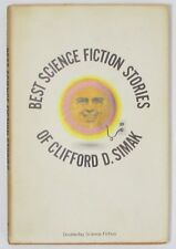 BEST SCIENCE FICTION STORIES OF CLIFFORD D SIMAK vintage 1971 SF hardcover in DJ
