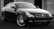 ASANTI 2005-2008 CLS350 CLS550 Sedan GRILLE KIT MESH Chrome WEAVE MERCEDES GRILL
