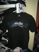 So Cal by No fear t-shirt adult size M black blue wings stars