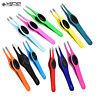 Stylish Hair Beauty Colourful Professional Slanted Grip Eyebrow Tweezers