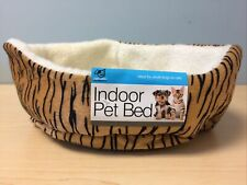 Indoor Pet Bed, Tiger Print