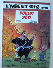 L'Agent 212 n° 18 Poulet Roti KOX & CAUVIN éd Dupuis novembre 1996 EO