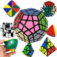 Shengshou 2x2 3x3 Pyraminx Megaminx Magic Cube Speed Twist Puzzle Brain Game Toy