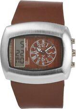 Digitale Armbanduhren aus Kunstleder mit Datumsanzeige