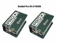 Radial Engineering ProDi Pro Di Two Pack Passive Authorized Dealer -Fast Ship!