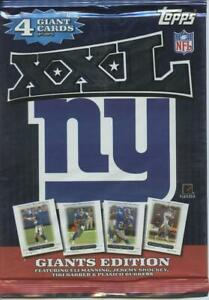 2005 Topps XXL Giant Card 50th Anniversary New York Giant Pack Set MANNING JE
