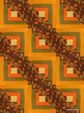12 Block Log Cabin Quilt Kit Pre-Cut  AUTUMN DAYS  by eyecandyfabrics NEW