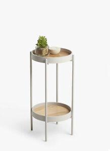 John Lewis Jax Small Side Table in Almond BNIB Latest 2021 RRP £69