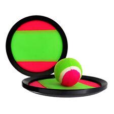 Velcro Throw & Catch Tennis Ball Fun Game Set Beach Garden Play Novelty Toy Gift