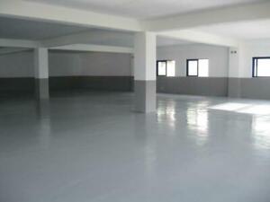 Hard wearing Garage - Factory - Showroom polyurethane Floor paintmaster