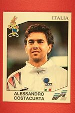 Panini EURO 92 N. 241 ITALIA COSTACURTA NEW WITH BLACK BACK TOP MINT!!