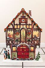 Christmas Advent Calendar With Compartments Carolers Wood Large Costco