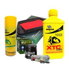 Kit tagliando Bardahl XTC 10W40 filtro olio aria spray candele Honda CBR 1100 XX